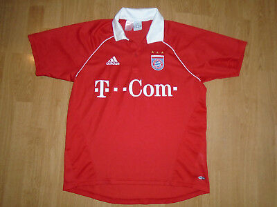 Bayern Munich home shirt 2005-06, small, ZENO 12, adidas, UK FREEPOST!