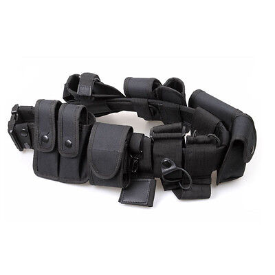 Police Security Guard Modular Enforcement Equipment Duty Belt Tactical Holster