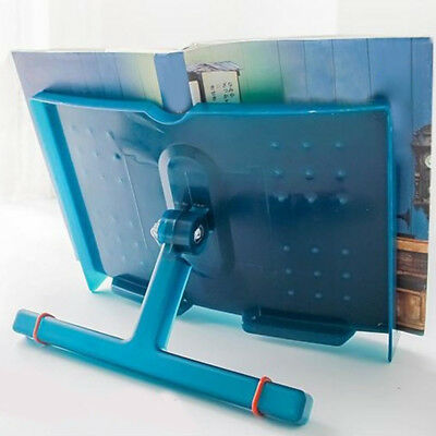 1PC Adjustable Angle Foldable Reading Book Stand Document Tablet Pad Desk Holder