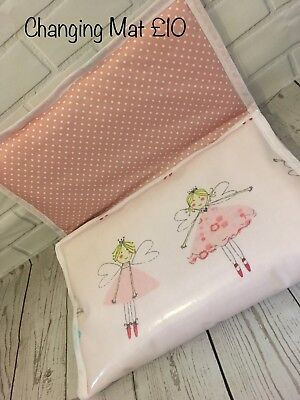 Fairy Nappy Changing Bag/travel Mat. Baby Nursery Nappy Changing Mat