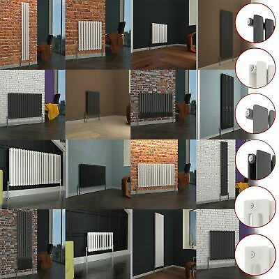 Radiator Designer Column Horizontal Vertical Central Heating Oval Flat Modern