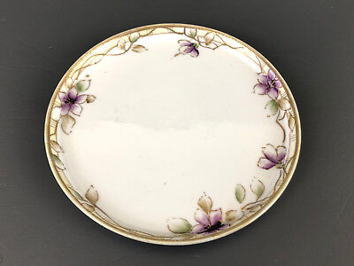 Antique porcelain hand painted under plate 1891 - 1921 NIPPON