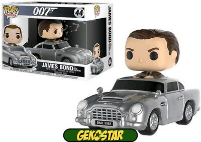 Sean Connery & Aston Martin - James Bond Funko POP Vinyl & Vehicle