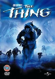 John Carepnter's The Thing Dvd Kurt Russell Brand New & Factory Sealed