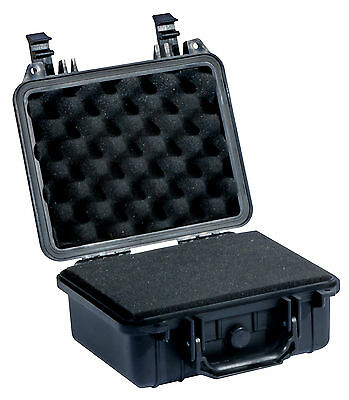 MALLETTE FLIGHT CASE ETANCHE + MOUSSES SOLIDITE 268x245x125mm PHOTO/VOILE/GOPRO
