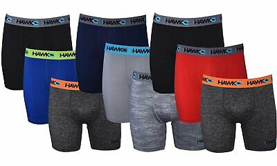 Tony Hawk Mens Performance Underwear 3-Pack Stretch Boxer Briefs