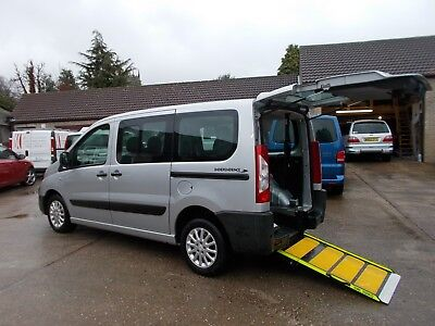 Wheelchair Car Disabled Car Wav Accessible 2013 Peugeot Expert Tepee 2.0Hdi Auto