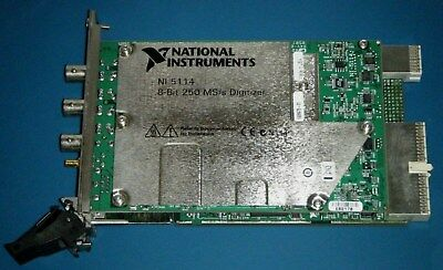 NI PXI-5114 Dual Channel 250MS/s Digitizer Scope, National Instruments *Tested*