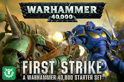 SPACE MARINES DEATH GUARD First Strike Warhammer 40K Easy to build Scenery NEW