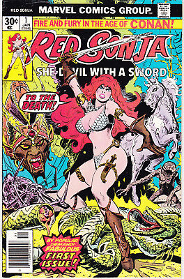 Red Sonja 1 - (Bronze Age 1977) - 8.0