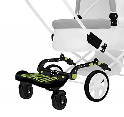 Stroller Glider Board - A-Ride-Along Stroller Accessory | Holds Kids Up To 70 |