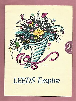 Original Leeds Empire Theatre Programme - October 23rd 1939