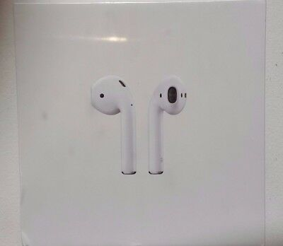Apple Airpods Bluetooth Wireless Headset New SEAL 1 Year Warranty MMEF2AM/A