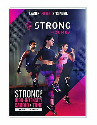 Strong by Zumba  New (DVD  2018)