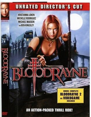 Bloodrayne - Dvd - Like New - Pc Videogame Included
