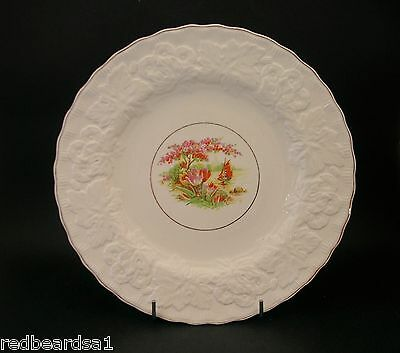 China Replacement Alfred Meakin China Dinner Salad Plate Embossed Rim 22cms