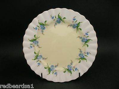 China Replacement Royal Albert Unnamed Ring of Forget-Me-Nots Vintage Tea Plate