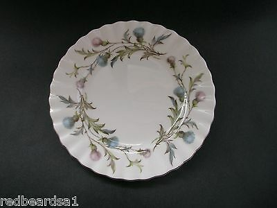 China Replacement Royal Albert Vintage Brigadoon Thistle Tea Plate England 1960s