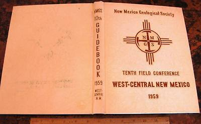 NEW MEXICO GEOLOGICAL SOCIETY GUIDEBOOK 10th Field Conference 1959 Mines Mining