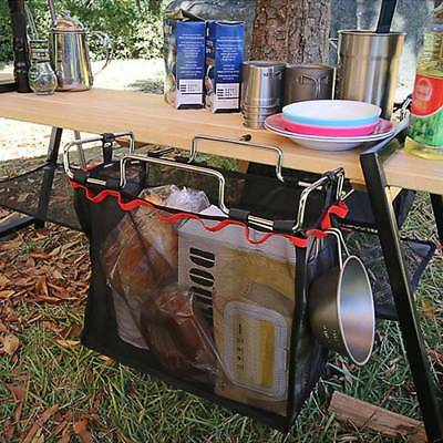 Outdoor Camping Portable Storage Picnic Barbecue Table Rack Kit Portable Bag