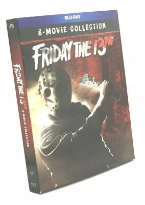 Friday the 13th: 8-Movie Collection (Blu-ray, 2018; 6-Disc Set) NEW w/ Slipcover
