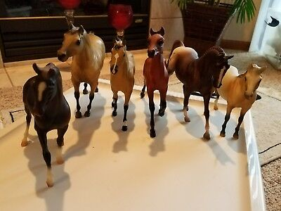 Lot Of 6 Breyer Horses Classic Size Preowned See Description