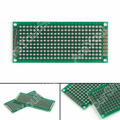 20Pcs Double Side 3x7cm Prototype PCB Board Universal Printed Circuit Board