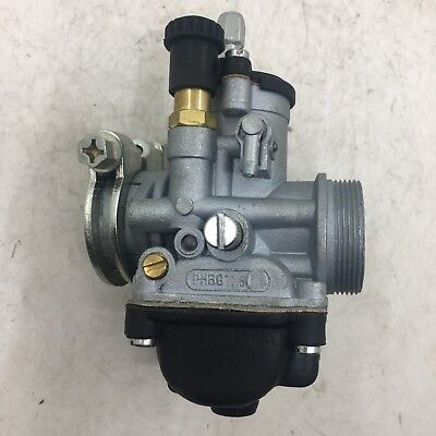 carburetor fit VESPA moped/pocket replace Dellorto PHBG17.5mm with Choke phbg 17