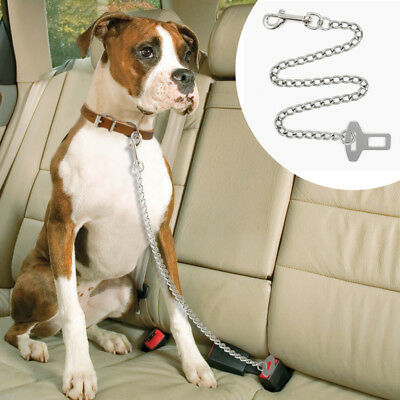 Adjustable Dog Seat Belt Dog Chain Leash Pet Car Vehicle Safety Lead for Dogs