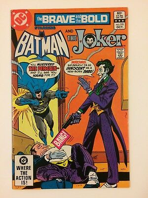 The Brave And The Bold #191 DC Comics (Oct, 1982) VF+ Batman Joker