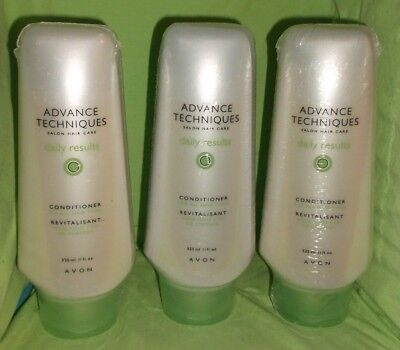 Avon Advanced Techniques Daily Results Conditioner for All Hair Types  Lot of 3