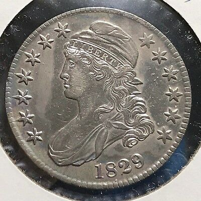 1829 50C Capped Bust Half Dollar (47571)
