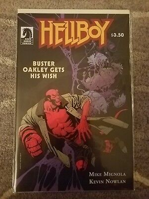 Hellboy Buster Oakley Gets His Wish One-Shot First Printing Dark Horse NM