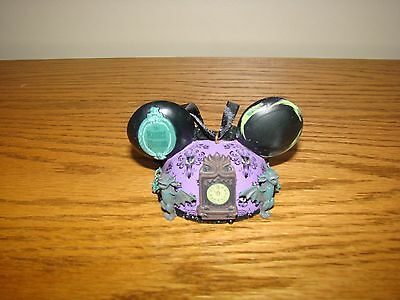DISNEY Parks HAUNTED MANSION Wallpaper Ears Hat Christmas Holiday Ornament *NEW*