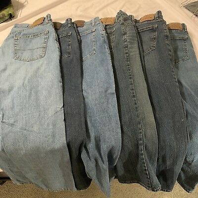 Lot: 7 Pair Of Mens 32x30 Jeans (new And Used) Wrangler, Levi Strauss, & More