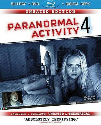 Paranormal Activity 4: Unrated Edition/Rated Version (Blu-ray/DVD Combo + Digita