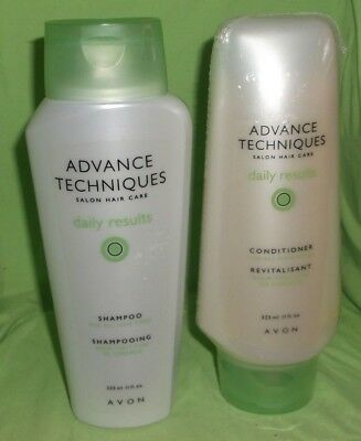 Avon Advanced Techniques Daily Results 1 Shampoo & 1 Conditioner