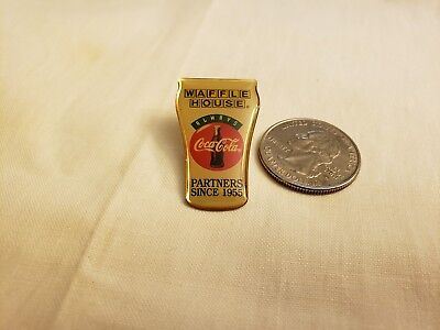 Vintage Waffle House 1995 Rare Coca Cola Pin Find More Free Shipping