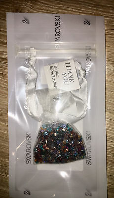 Swarovski Thank You Gift Pouch Of Crystal Stones Brand New 1081872
