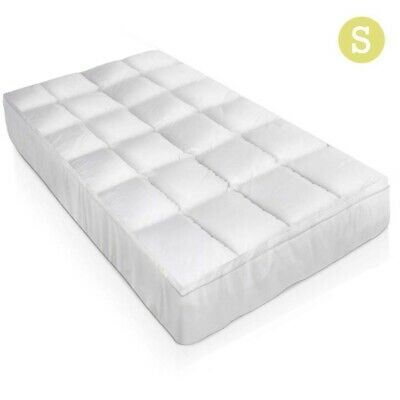 Giselle Bedding 1000GSM Duck Feather Down Pillowtop Mattress Topper  Single