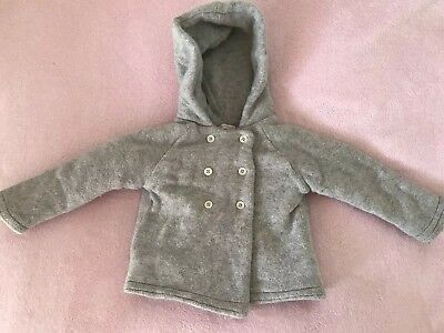 Country Road Baby Wool Coat, Unisex, Size 18-24 Months