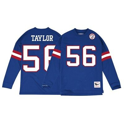 5b67e086 Lawrence Taylor New York Giants Mitchell & Ness Jersey Inspired Longsleeve  Knit