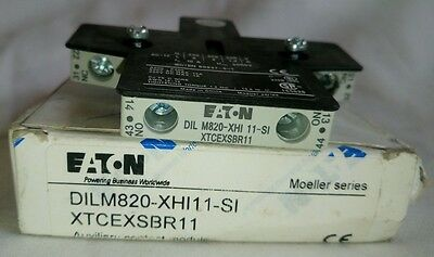 EATON ELECTRIC DILM820-XHI11-SI Auxiliary contacts 2 Pcs Lot
