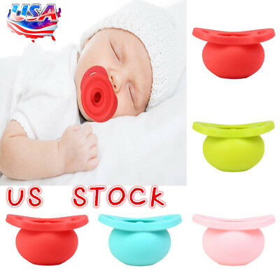 Baby Newborn Dummy Pacifier Soother Silicone Teether Nipple Orthodontic NippleHI