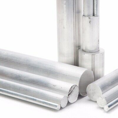 High Quality Aluminum Alloy Metal 6061 Round Rod Solid Lathe Bar Cutting Stock