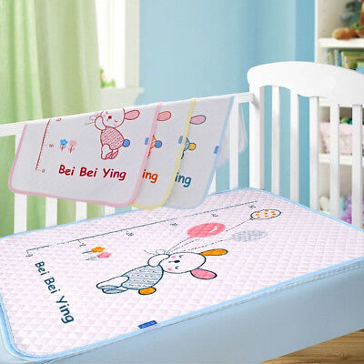 Cotton Baby Infant Waterproof Pad Bed Sheets Changing Mat Babys Urine Pad