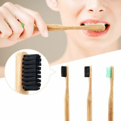 Natural Bamboo Toothbrush Soft Bristle Eco Friendly Travel Tooth Brush Oral Care