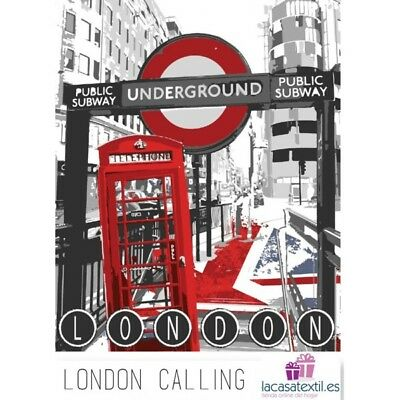 Manta Plaid London Calling Sedalina