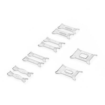 10Pc Ring Adjuster Snuggies Insert Guards Tighteners Reducer Resizing Fitter UK
