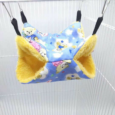 Cute Hammock Rat Hamster Guinea Pig Bird Parrot Squirrel Hanging Bed Toy House